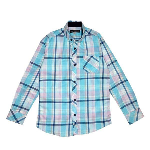پیراهن پسرانه مدل چهارخانه ZAA