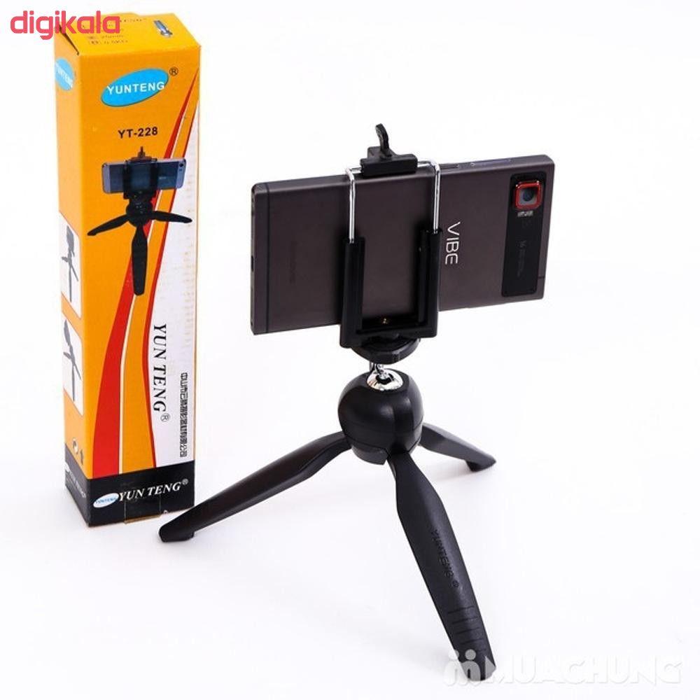 سه پایه نگهدارنده دوربین یانتنگ مدل YT-228 main 1 2
