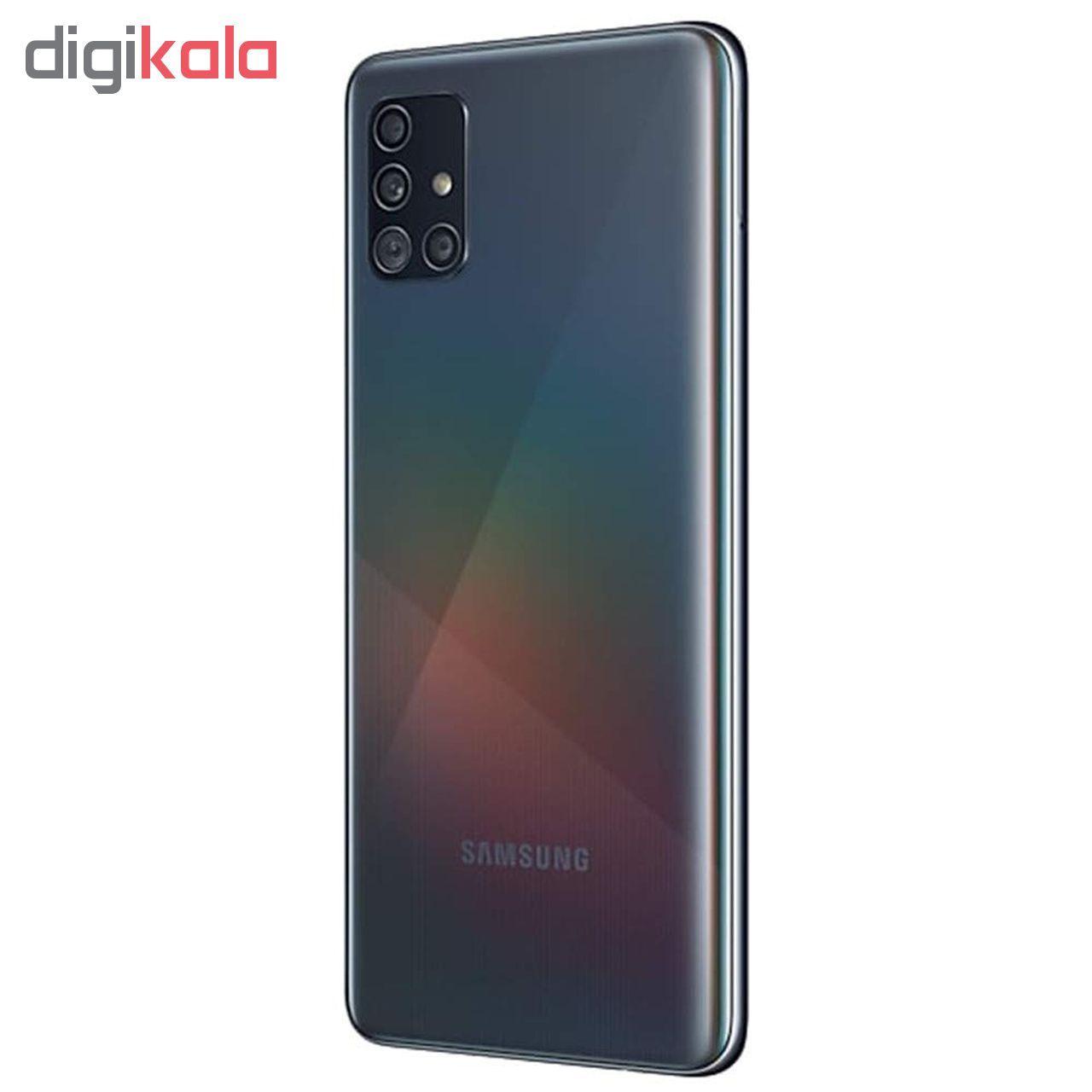گوشی موبایل سامسونگ مدل Galaxy A51 SM-A515F/DSN دو سیم کارت ظرفیت 128گیگابایت main 1 4