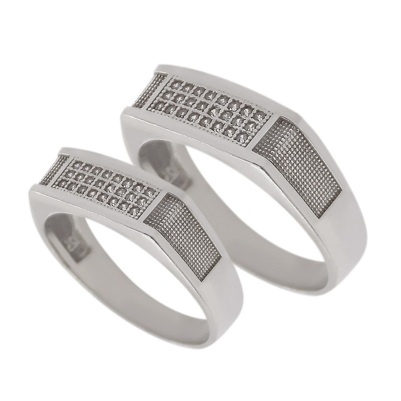 ست انگشتر نقره مدل hip0028
