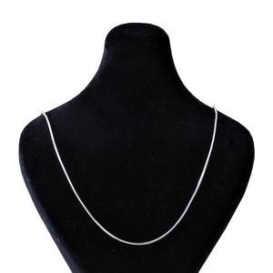 زنجیر نقره زنانه بازرگانی میلادی کد ZR_043