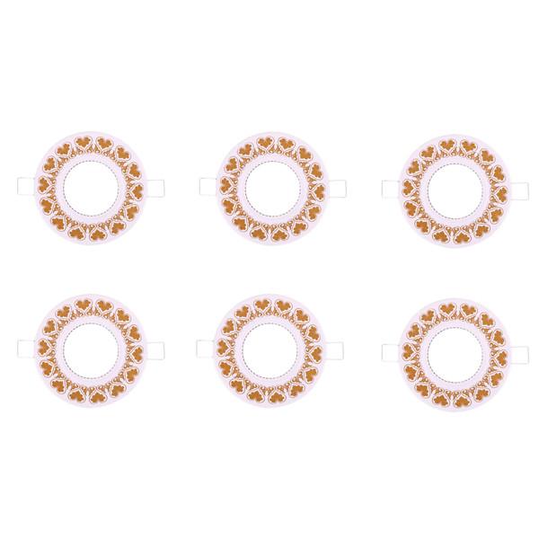 قاب هالوژن جهان الکتریک مدل JEH2051 بسته 6 عددی