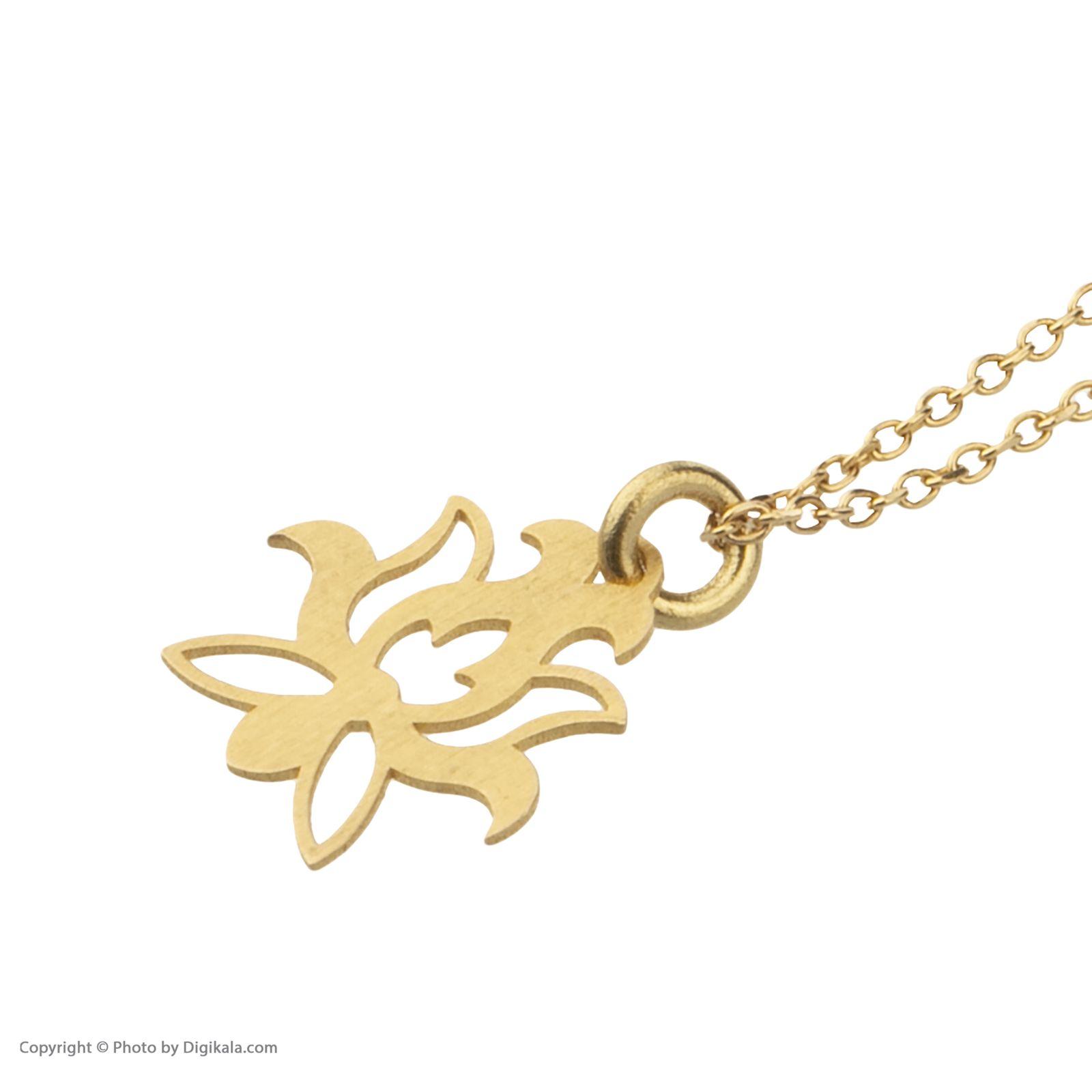 آویز ساعت طلا 18 عیار زنانه میو گلد مدل GD613 -  - 4