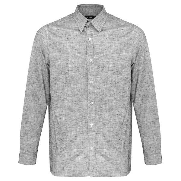 پیراهن آستین بلند مردانه مدل تک جیب