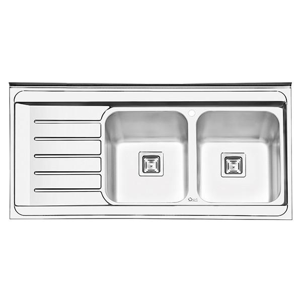 سینک ظرفشویی ایلیا استیل مدل 1060 روکار