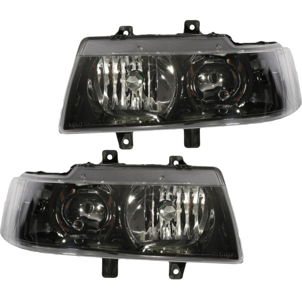 چراغ جلو خودرو مدل JT123D مناسب برای سمند بسته 2 عددی