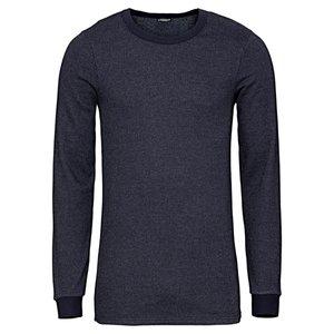 تی شرت آستین بلند مردانه لیورجی مدل Thermal12 رنگ سورمه ای