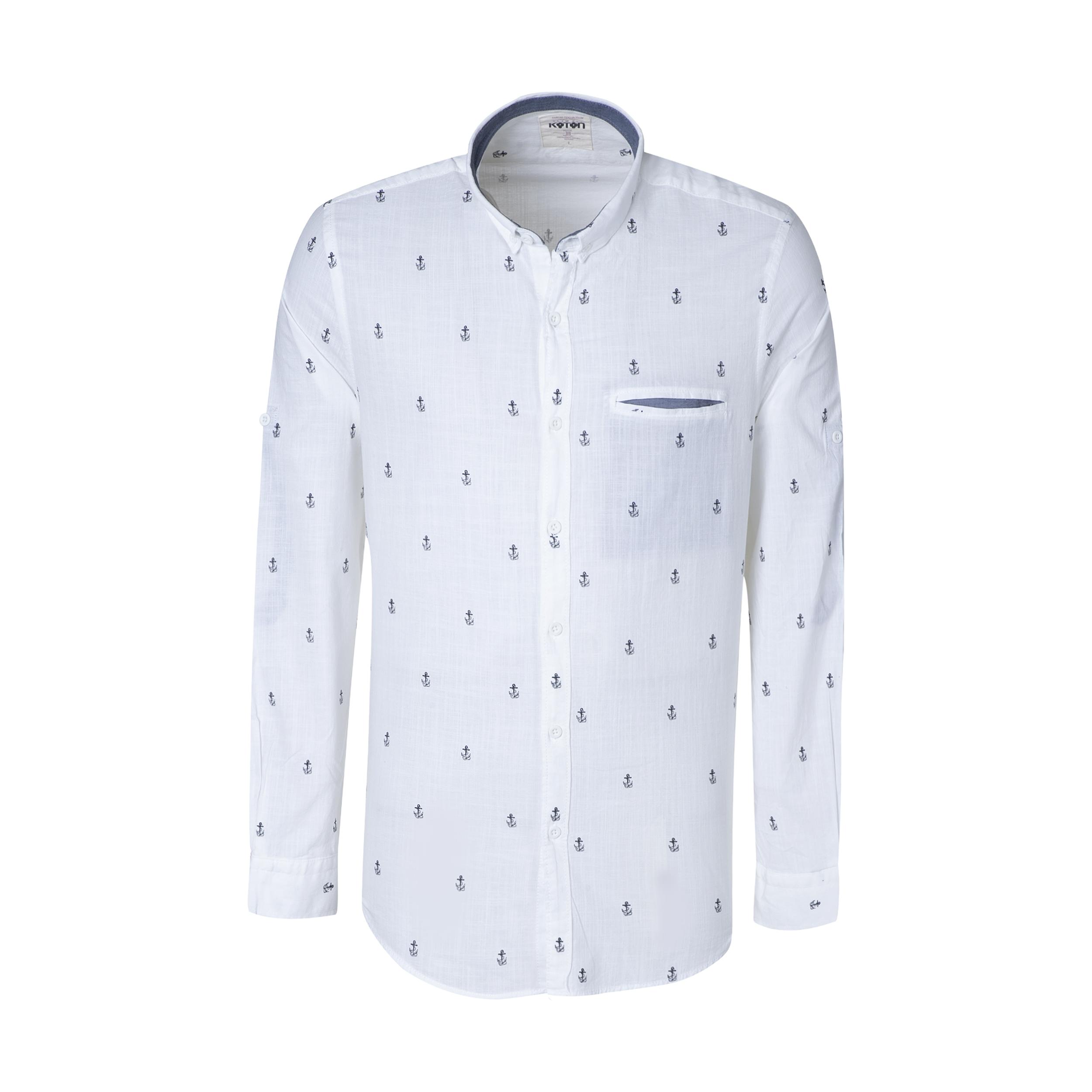 پیراهن مردانه کوتون مدل 8YAM61286LW-61C