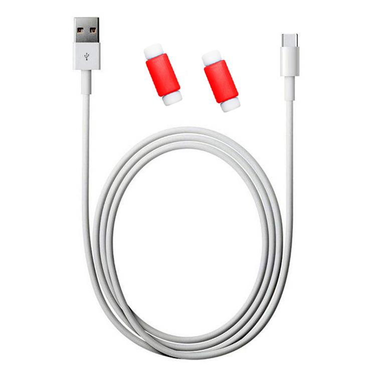 کابل تبدیل USB به USB-C مدل DST-1018 طول 2 متر به همراه 2 عدد محافظ کابل              ( قیمت و خرید)