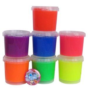 ژل بازی گودی مدل رنگارنگ مجموعه 7 عددی به همراه پیکسل