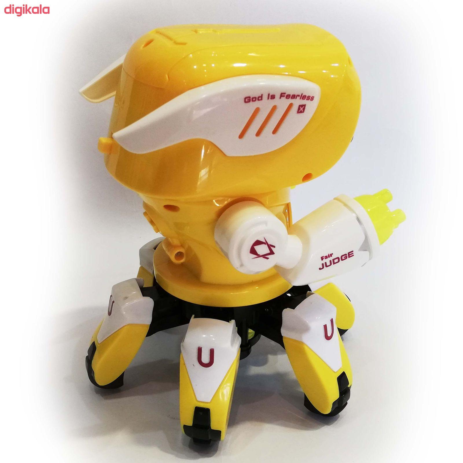 اسباب بازی  طرح ربات خرچنگی مدل آدم آهنیکد 058 main 1 3