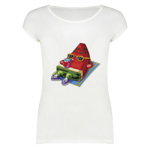 تی شرت زنانه مدل YALDA-SKH55