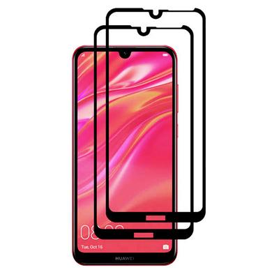 محافظ صفحه نمایش وایت ولف مدل WGF2 مناسب برای گوشی موبایل هوآوی Y7 2019 بسته 2 عددی