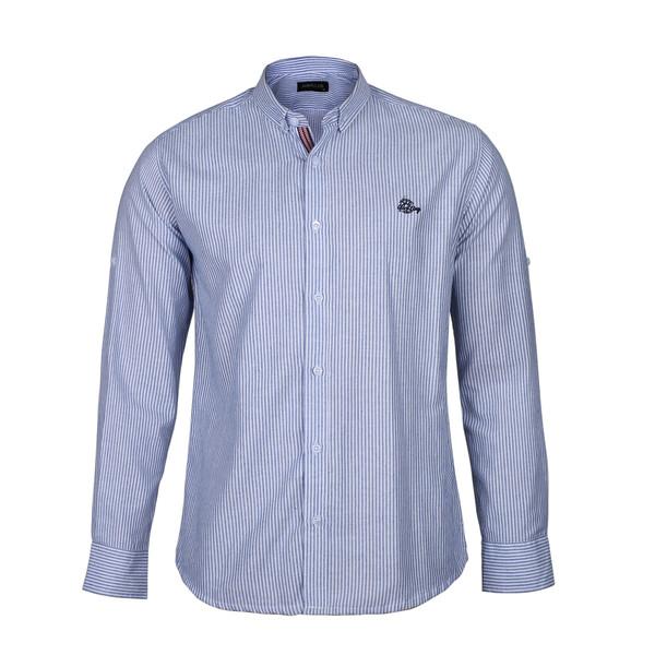 پیراهن آستین بلند مردانه ناوالس مدل xury-BL