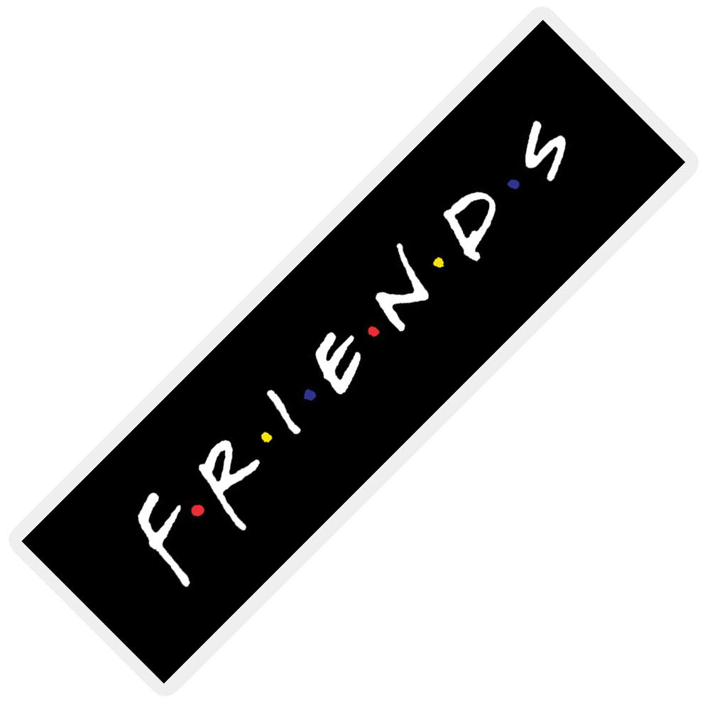 نشانگر کتاب مدل  لوگو فرندز کد FRIEND-LOGO