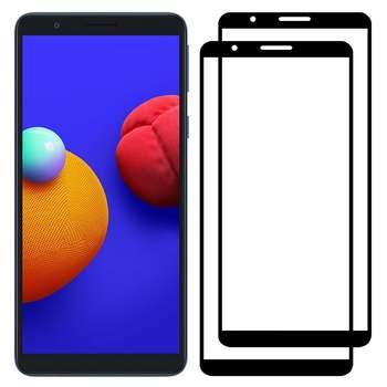 محافظ صفحه نمایش مدل FCG مناسب برای گوشی موبایل سامسونگ Galaxy A01 Core بسته دو عددی