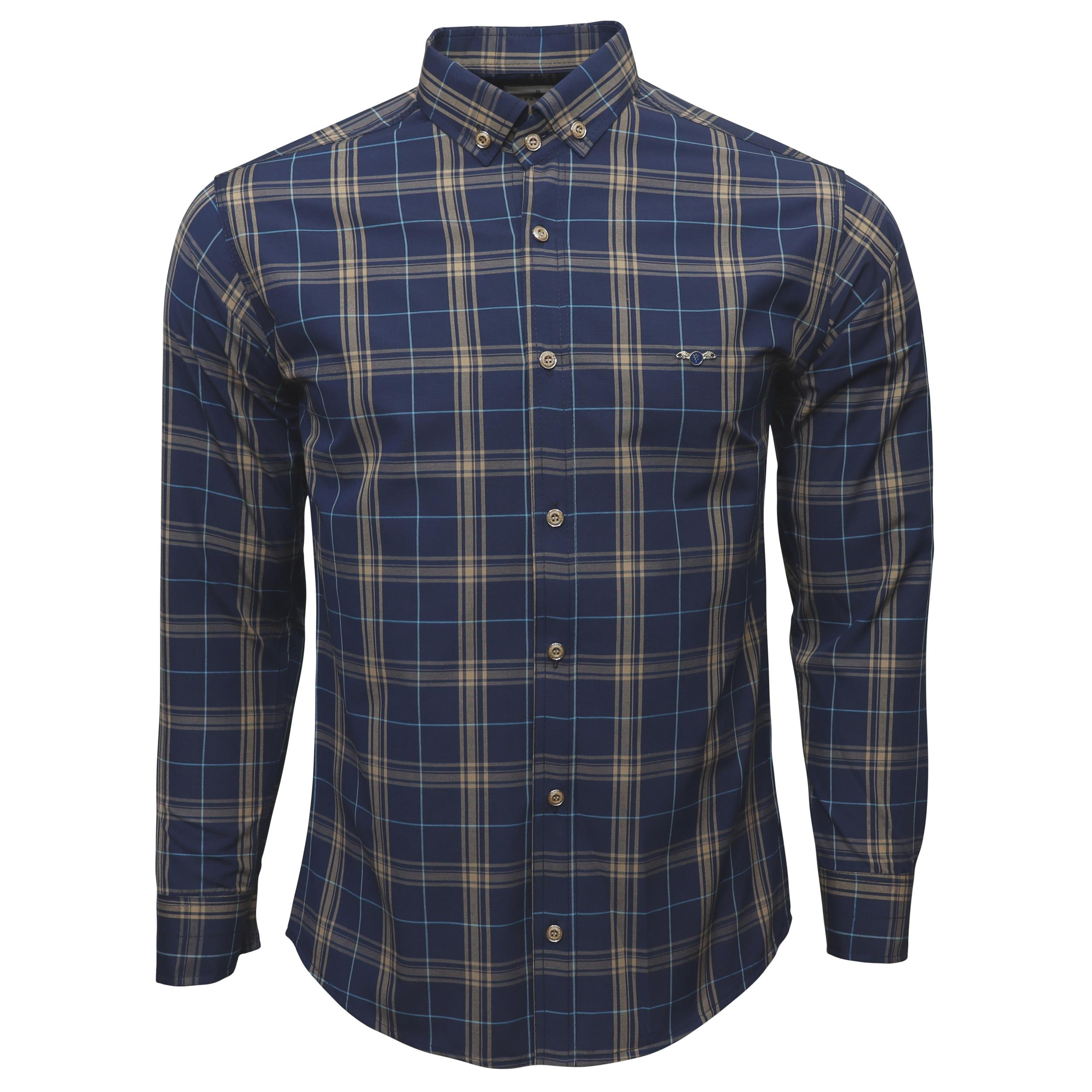 پیراهن آستین بلند مردانه مدل ch510025
