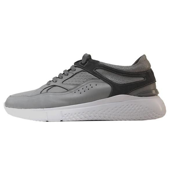 کفش روزمره مردانه چرم آرا مدل sh061 کد tm