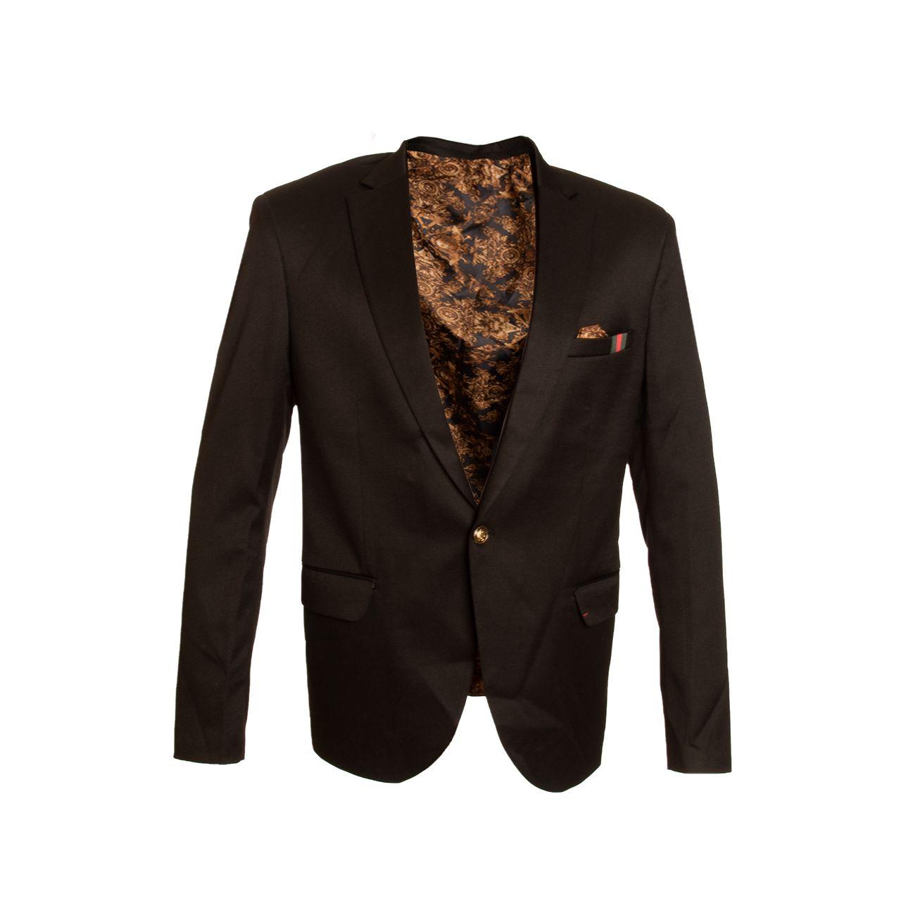 کت تک مردانه پریمو مدل فاستونی تک دکمه 700703