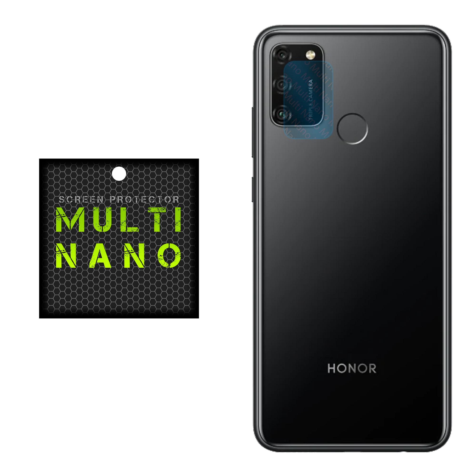 محافظ لنز دوربین مولتی نانو مدل Pro مناسب برای گوشی موبایل آنر 9A