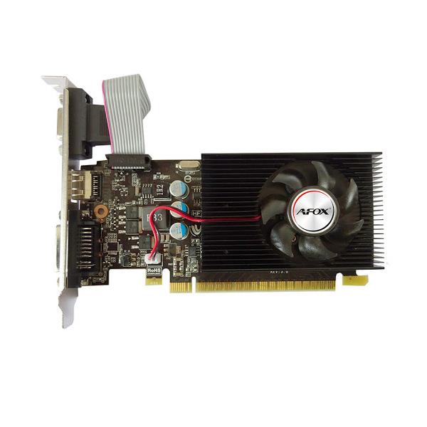 بررسی و {خرید با تخفیف} کارت گرافیک ای فاکس مدل GeForce GT 730 2GB DDR3 128Bit اصل