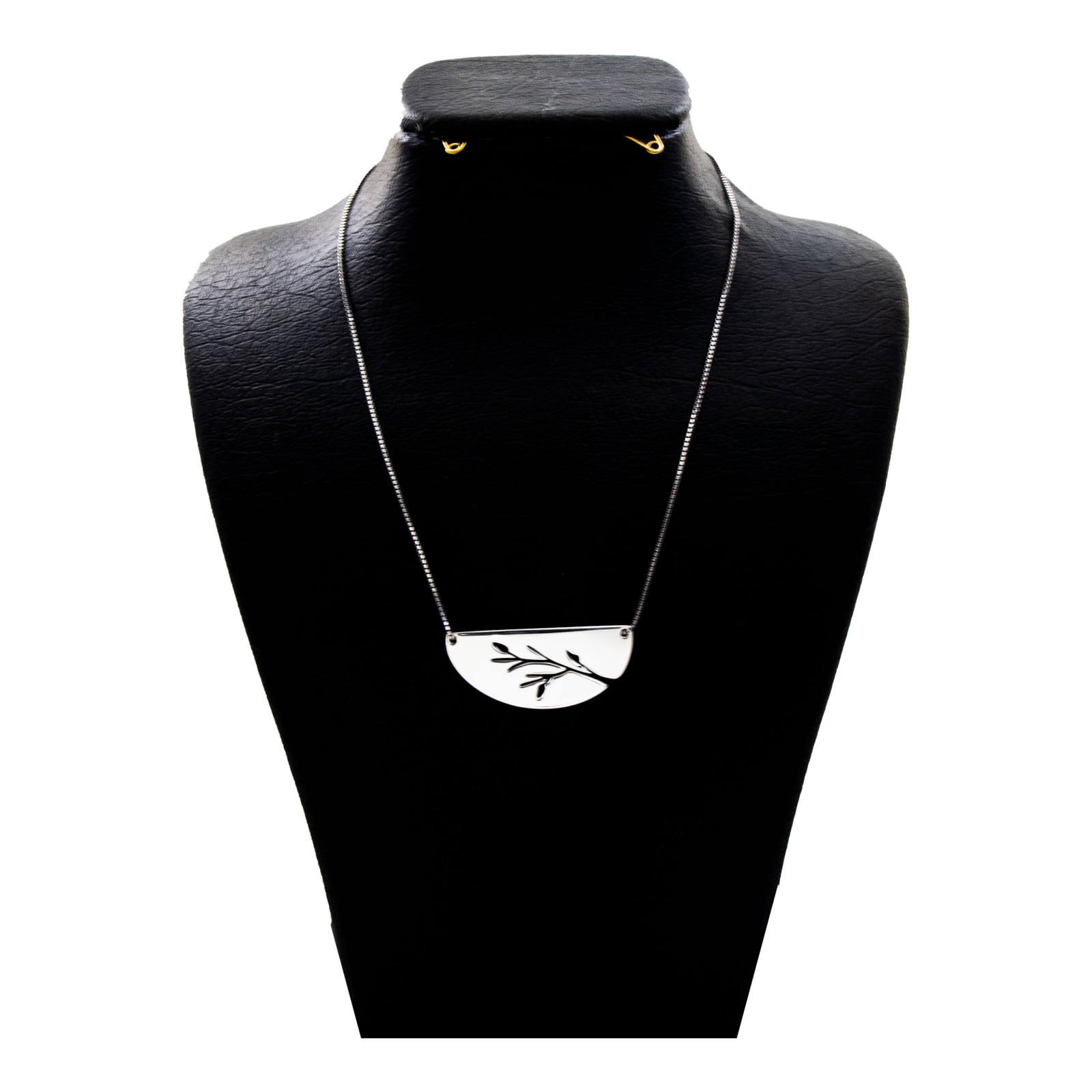 گردنبند نقره زنانه دلی جم کد D 95 -  - 2