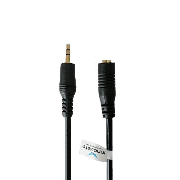 کابل افزایش طول 3.5 میلیمتری صدا مدل 052 طول 3 متر