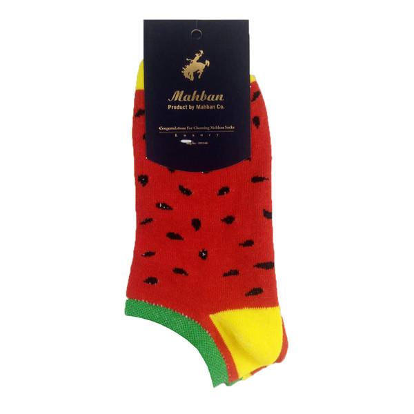 جوراب بچگانه مدل هندوانه کد Od-Mahban001