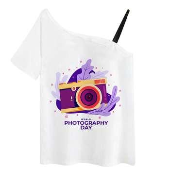 تی شرت زنانه کد R0003-4444