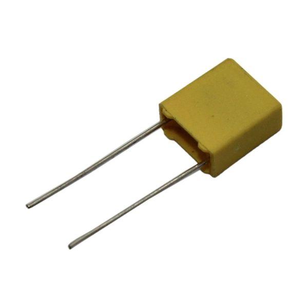 خازن 47 نانو فاراد مدل MKT بسته 10 عددی
