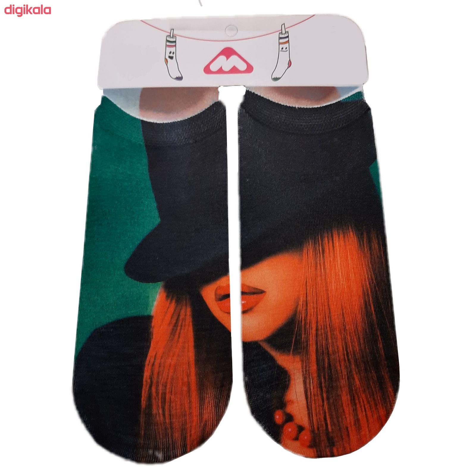 جوراب زنانه کد 10-2 main 1 1