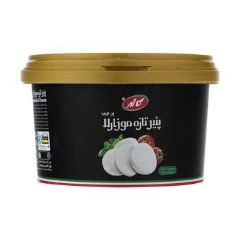 پنیر تازه موزارلا کاله مدل مرواریدی مقدار 500 گرم