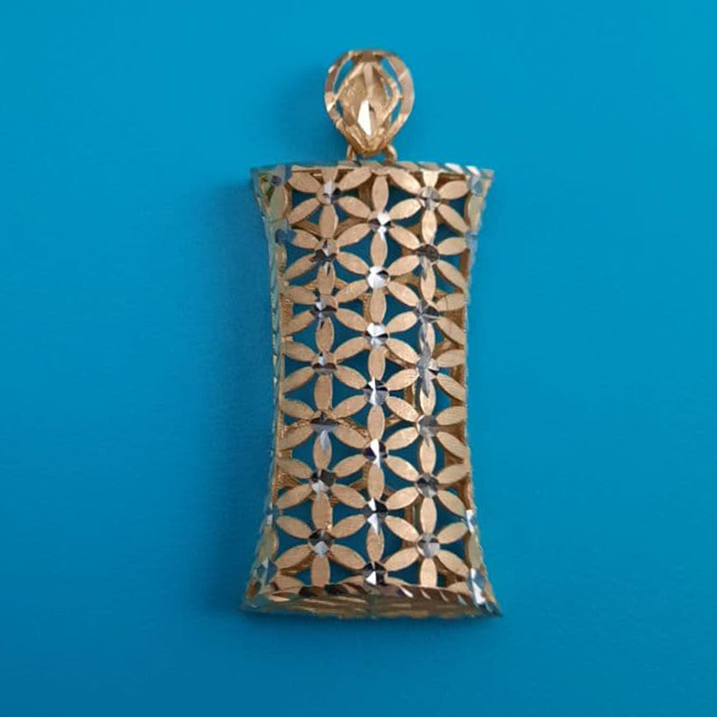 آویز گردنبند طلا 18 عیار زنانه  گالری یارطلا کد PL25