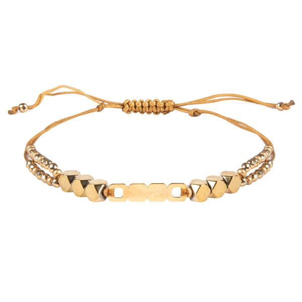 دستبند طلا 18 عیار زنانه ریسه گالری کد H1170