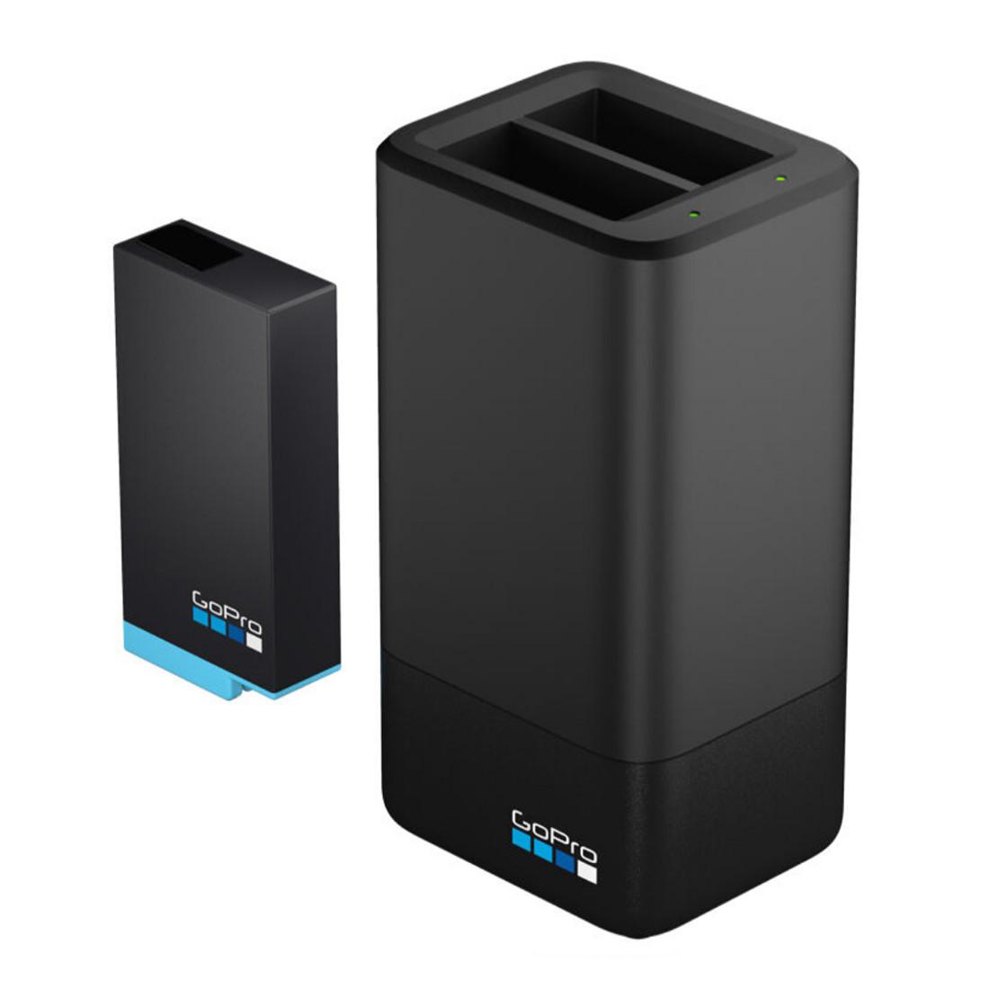 شارژر دوقلوی باتری گوپرو برای باتری های GOPRO MAX مدلMax Dual Battery Charger/Battery