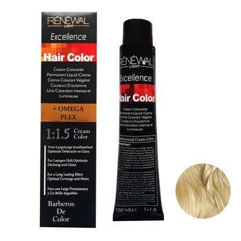 رنگ مو رنوال شماره 9.13 حجم 150 میلی لیتر رنگ بلوند شنی خیلی روشن