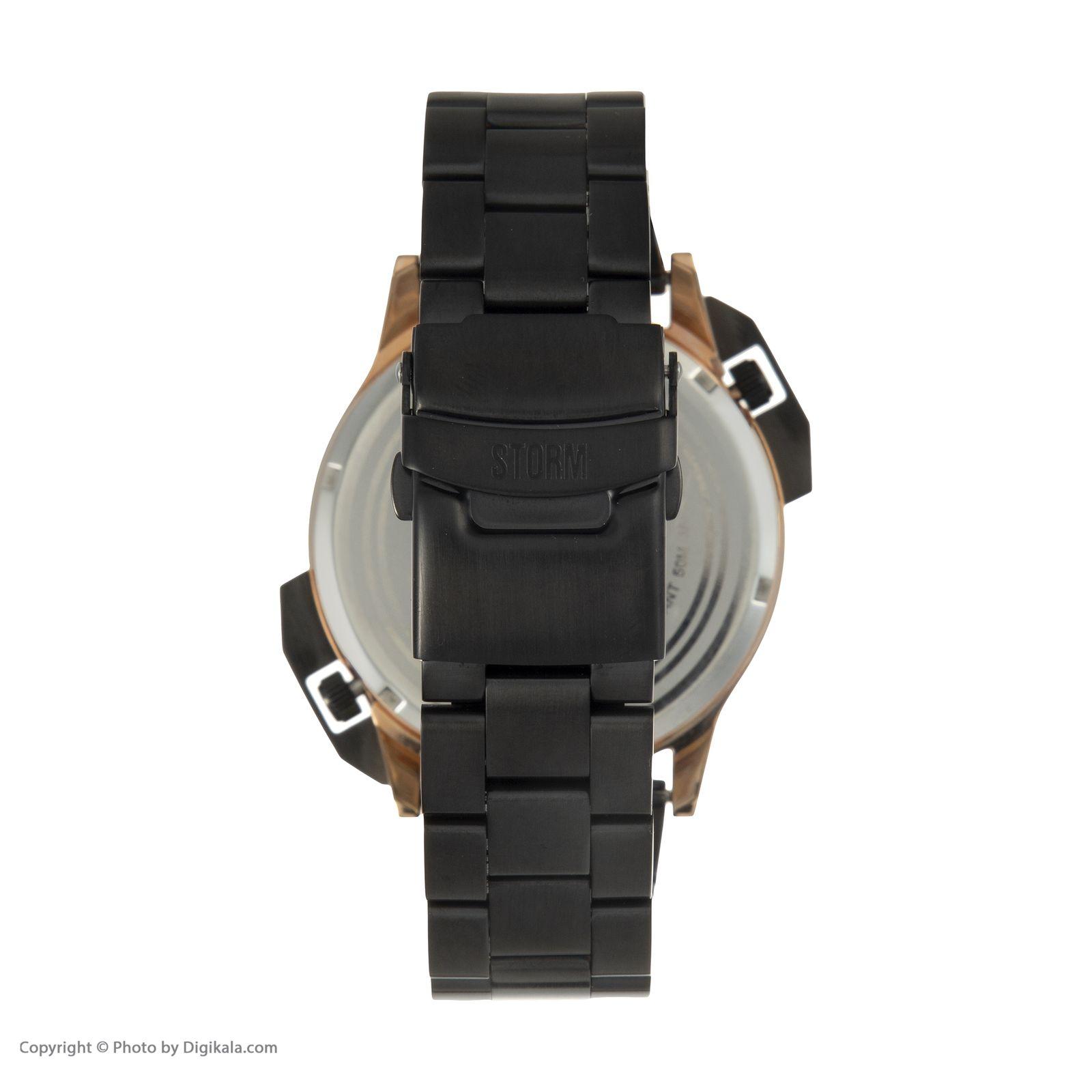 ساعت مچی عقربه ای مردانه استورم مدل ST 47135-RG -  - 5