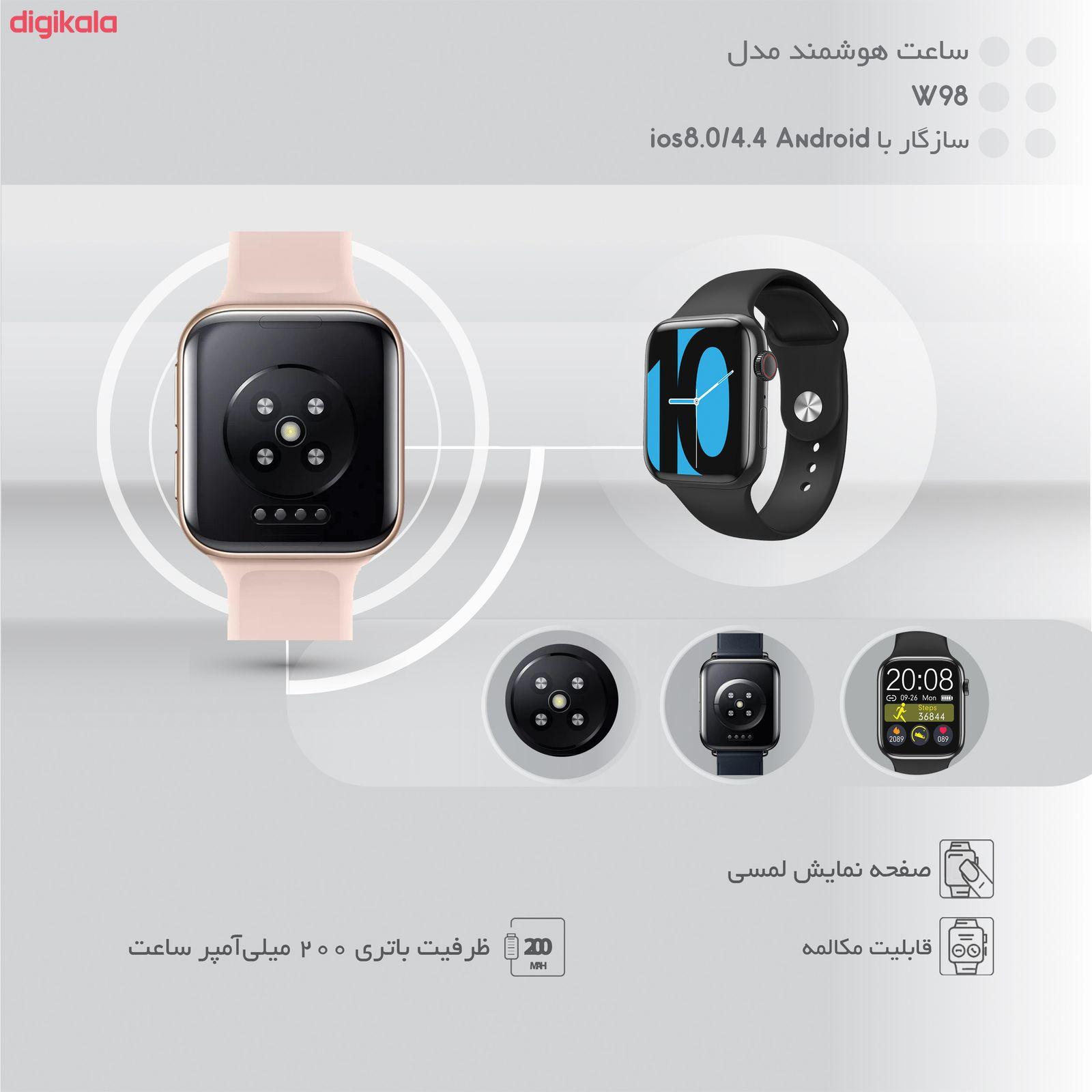 ساعت هوشمند مدل W98 main 1 17