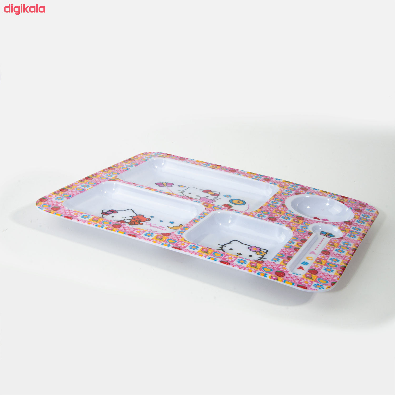 ظرف غذای کودک طرح Hello Kitty مدل 398 main 1 2