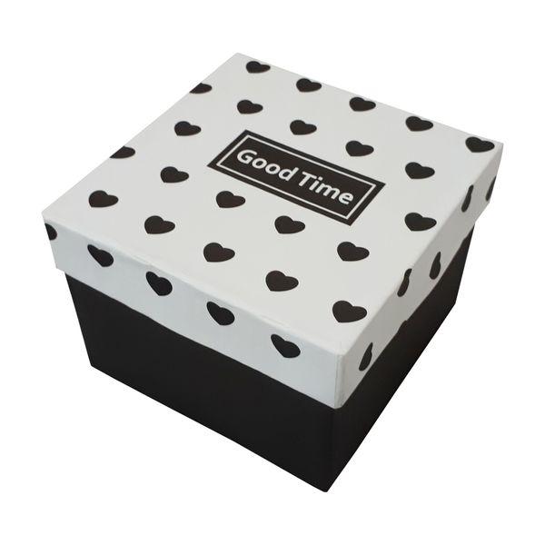 جعبه هدیه طرح قلب مدل GOOD TIME کد 88