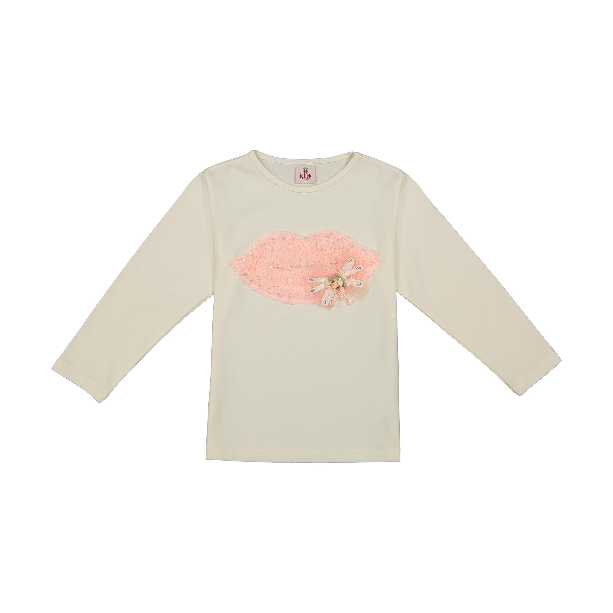 تی شرت دخترانه آی چیلک مدل 24611052-05