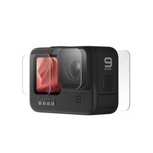 محافظ صفحه نمایش و لنز دوربین پلوز مدل PU507 مناسب برای دوربین ورزشی گوپرو Hero 9 مجموعه سه عددی