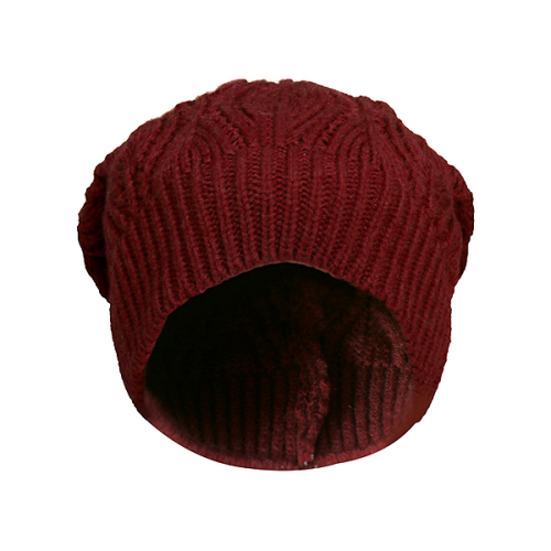 کلاه بافتنی دخترانه مدل خزان کد 023