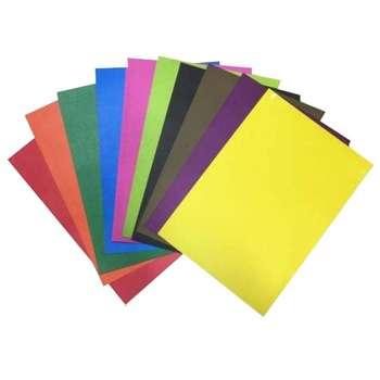 مقوا رنگی کد tenet 01 سایز 24x34 سانتی متر بسته 10 عددی