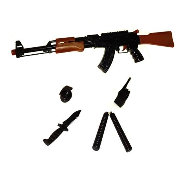ست تفنگ بازی مدل کلاشینکف