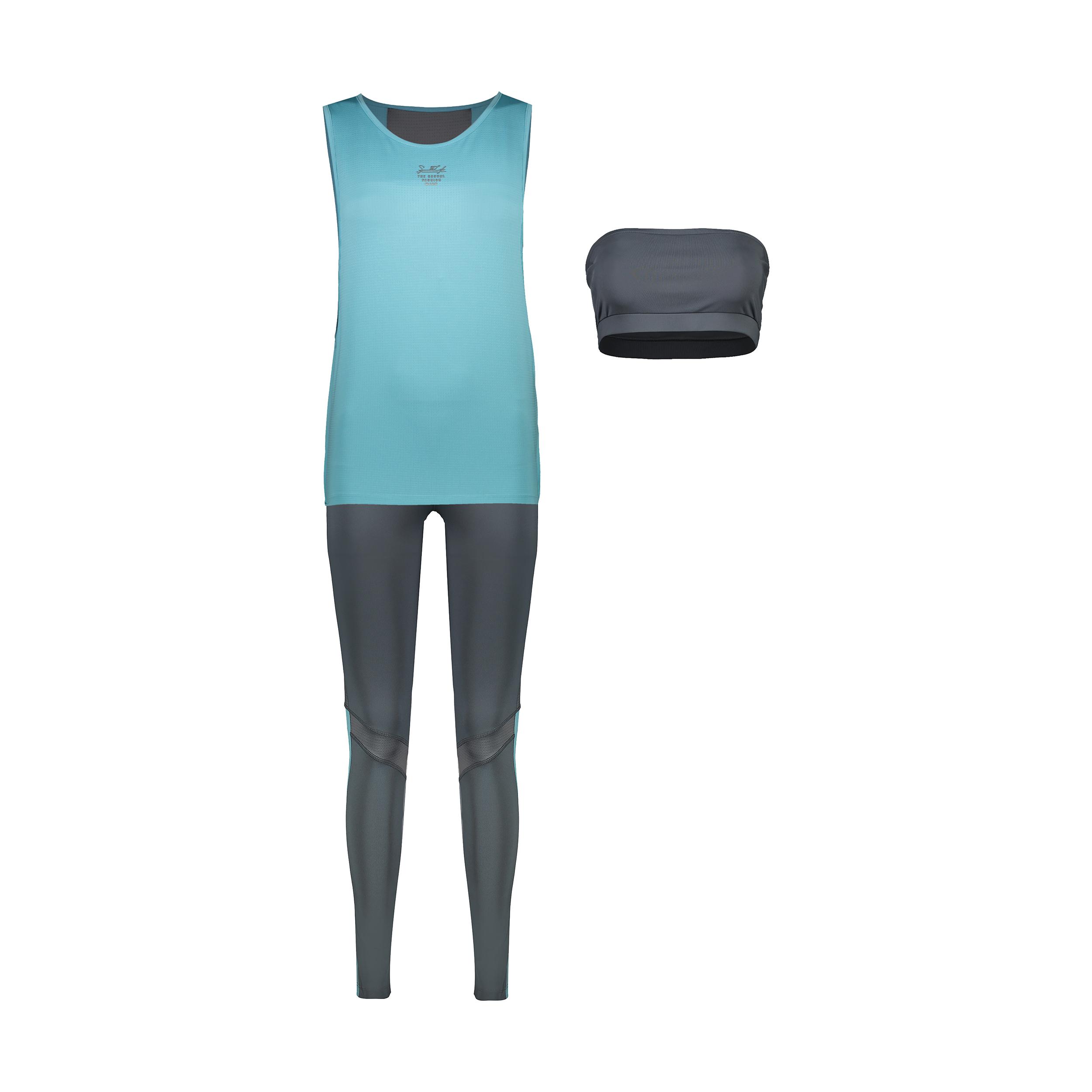 ست 3 تکه لباس ورزشی زنانه اسپیدلایف مدل 012