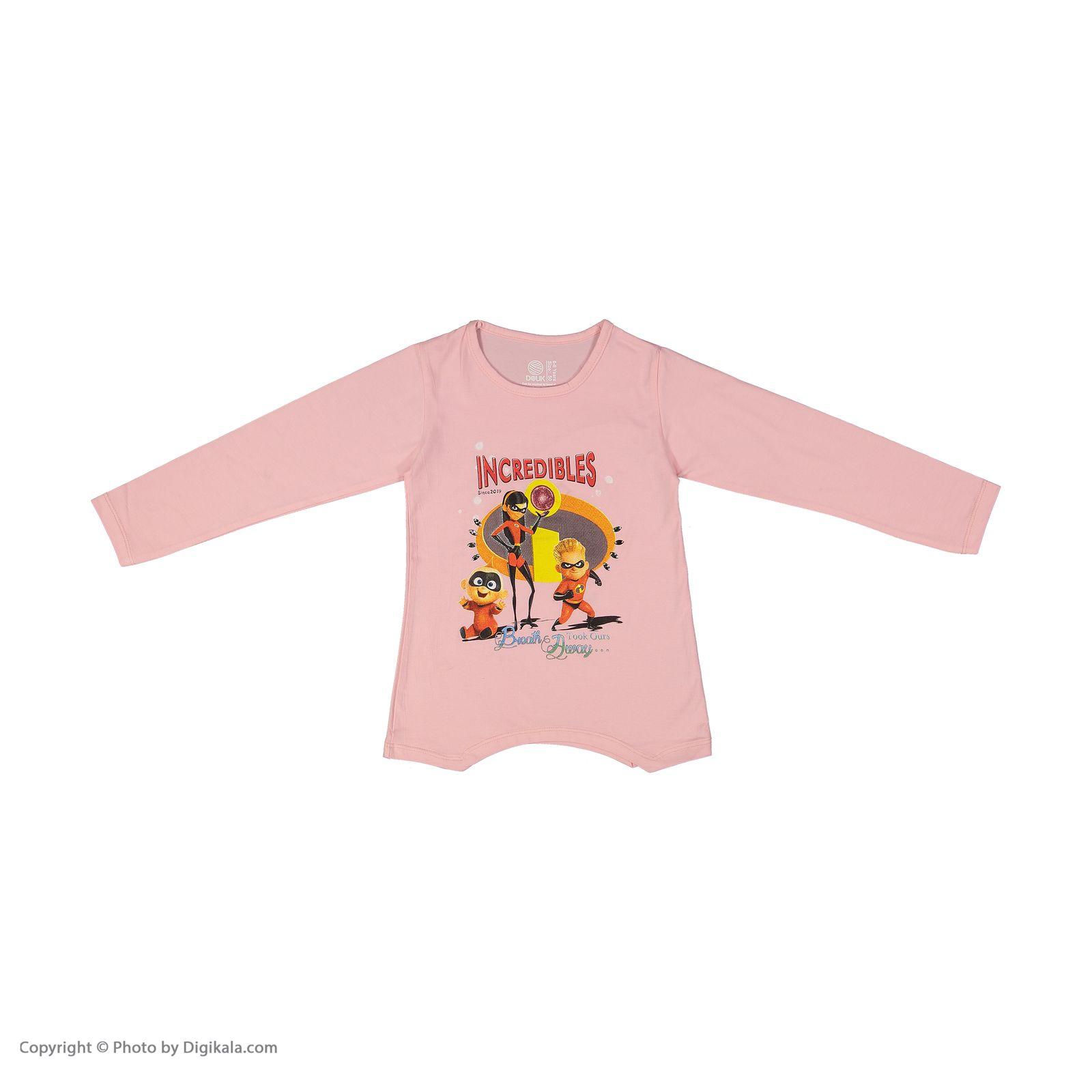 تی شرت دخترانه سون پون مدل 1391352-84 -  - 3