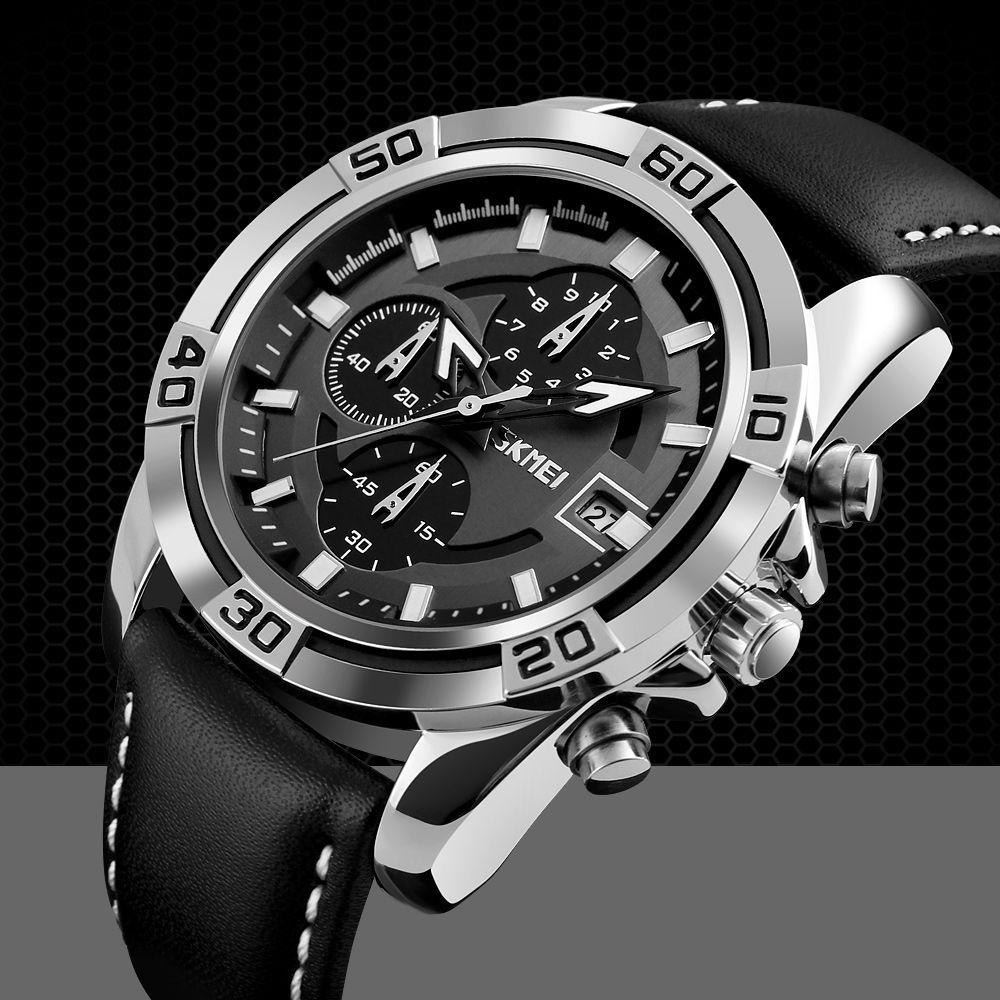 ساعت مچی عقربه ای مردانه اسکمی مدل 05-9156 -  - 3