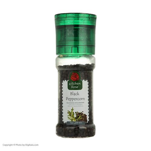 دانه فلفل سیاه کیچن رز-90 گرم