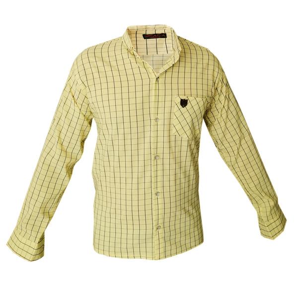 پیراهن آستین بلند مردانه مدل RAH42